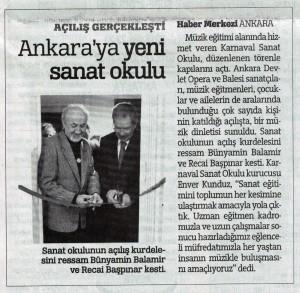 6 Aralık 2015 Turkiye Gazetesi