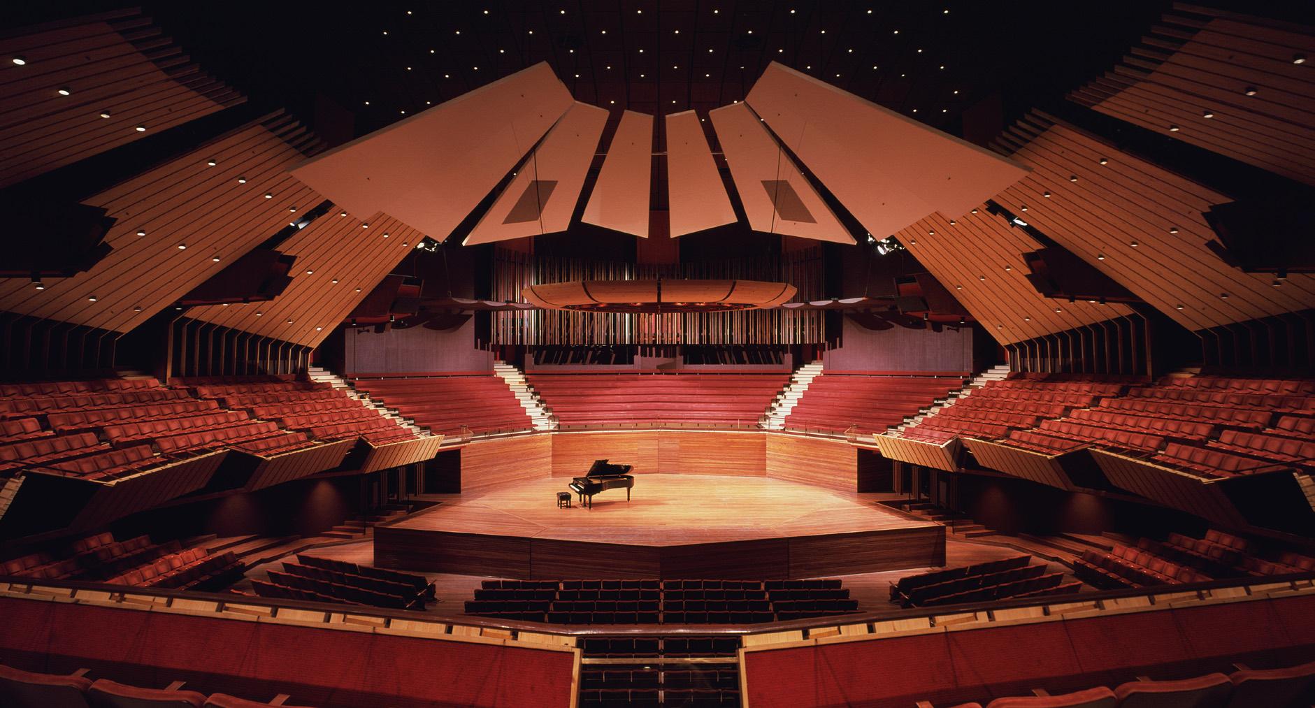 Christchurch Şehir Merkezi Konser Salonu - Yeni Zellanda