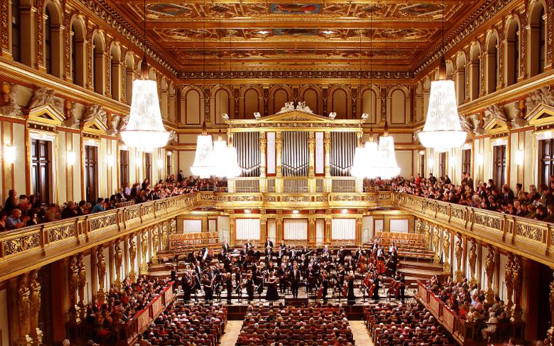 Viyana Müzik Derneği Konser Salonu - Viyana - Avusturya